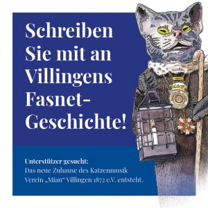 Katzenmusik Spendenbroschüre